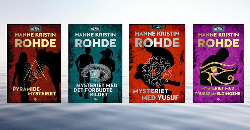 Blålys serien av Hanne Kristin Rohde