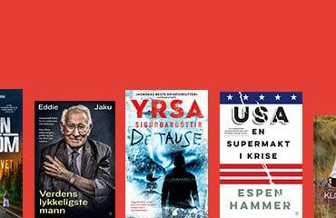 Vårens bøker 2021